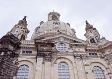 Frauenkirche es una iglesia luterana Fotos de archivo libres de regalías