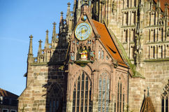 Frauenkirche facade Stock Images