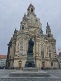 Frauenkirche stock image