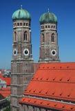 frauenkirche germany munich Royaltyfri Bild