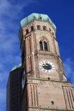 Frauenkirche, het middeleeuwse kathedraalsymbool van Mun Stock Afbeelding