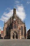 frauenkirche kościelna dama Nuremberg nasz zdjęcie royalty free