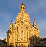 Frauenkirche (Ladys church) Royalty Free Stock Photo