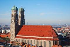Frauenkirche München stock foto's