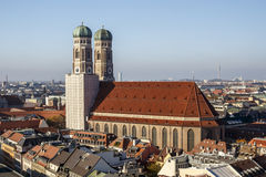 Frauenkirche in München, Duitsland, 2015 Royalty-vrije Stock Afbeeldingen