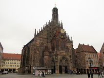 Frauenkirche main city church royalty free stock images