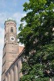 Frauenkirche a Monaco di Baviera Fotografia Stock