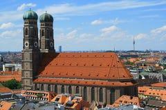 Frauenkirche Monaco di Baviera Immagini Stock Libere da Diritti