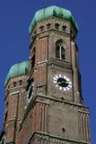 Frauenkirche a Monaco di Baviera immagini stock libere da diritti