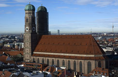 frauenkirche munich Стоковое фото RF
