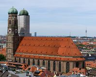 Frauenkirche, Munich. Munich's famous Frauenkirche, or Church of Our Lady royalty free stock photos