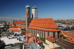 Frauenkirche in Munich Stock Photography