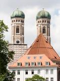 frauenkirche munich Royaltyfria Foton