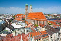 Frauenkirche in Munich. In Bavaria Royalty Free Stock Photography