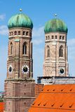 Frauenkirche. In Munich in Bavaria Royalty Free Stock Images