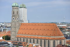 Frauenkirche in Munich, Bavaria, Germany Stock Image