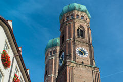 Frauenkirche , Munich Germany Stock Photo