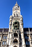Frauenkirche in Munich. Tower from the Frauenkirche church in Marienplatz, Munich, Germany Royalty Free Stock Photography