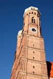Frauenkirche, Munich, vue de portrait Photo stock