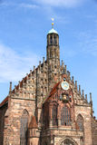 The Frauenkirche in Nuremberg Royalty Free Stock Images