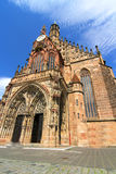The Frauenkirche in Nuremberg Stock Image