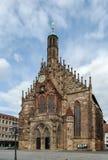 Frauenkirche, Nuremberg, Germany Stock Image