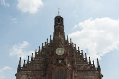 Frauenkirche, Nuremberg, Germany Royalty Free Stock Image