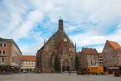 Frauenkirche in Nuremberg Royalty Free Stock Photo