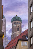 Frauenkirche Road Royalty Free Stock Photography