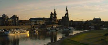 Frauenkirche; senhora; noite; quadrado; cidade; famoso; povos; turismo; história; religião; dresden; igreja; frauenkirche; Aleman Imagem de Stock Royalty Free