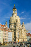 Frauenkirche temple in Dresden, Germany Royalty Free Stock Photo