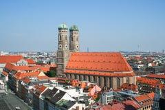 Frauenkirche w Monachium Zdjęcia Stock