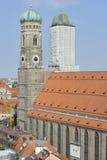 Frauenkirche w Monachium, Bavaria, Niemcy Zdjęcie Royalty Free