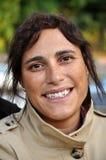 Frauenlächeln Lizenzfreies Stockfoto
