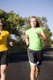 Frauenlaufen Lizenzfreies Stockfoto