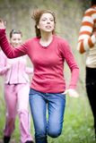 Frauenlaufen Lizenzfreies Stockbild