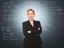 Frauenlehrer Lizenzfreies Stockbild