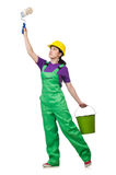 Frauenmaler Lizenzfreie Stockfotos