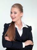 Frauenmanager in einer Klage Stockbilder