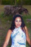 Frauenmodell Lizenzfreies Stockbild