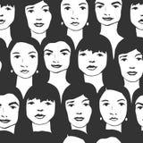 Frauenmuster Lizenzfreies Stockfoto