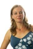 Frauennahaufnahme Lizenzfreie Stockfotografie