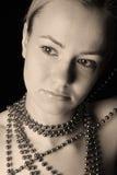 Frauenportrait stockbild