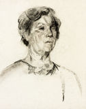 Frauenportrait Stockbilder