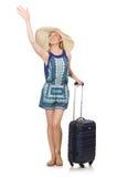 Frauenreisen Lizenzfreie Stockbilder