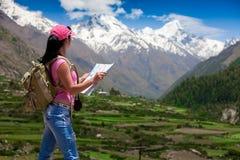 Frauenreisender Lizenzfreie Stockfotos