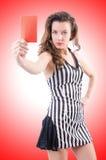Frauenrichter Stockfotos