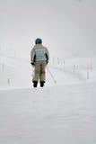 Frauenskifahrer Lizenzfreie Stockfotografie