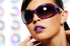 Frauensonnenbrillen Stockbilder