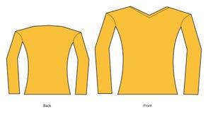 Frauent-shirt stockfotografie